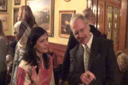 Pabst Mansion- Dr. William Donaldson, Associate Dean Arts and Science and Dr. Enaya Othman